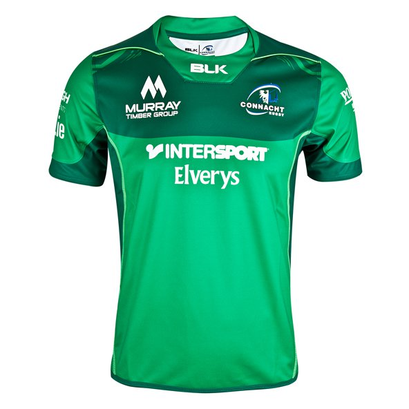 BLK Connacht 17 Home Kids Jersey Green