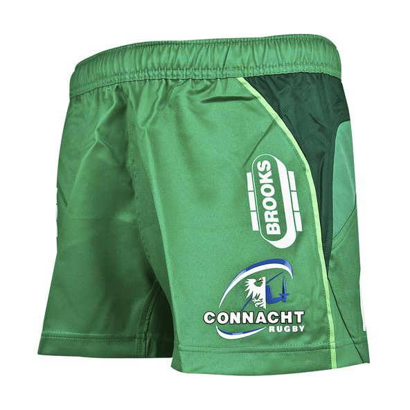 BLK Connacht 17 Home Kids Short Green