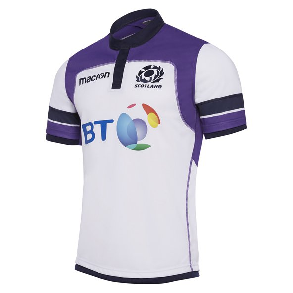 Macron Scotland 2017/18 Away Jersey, White