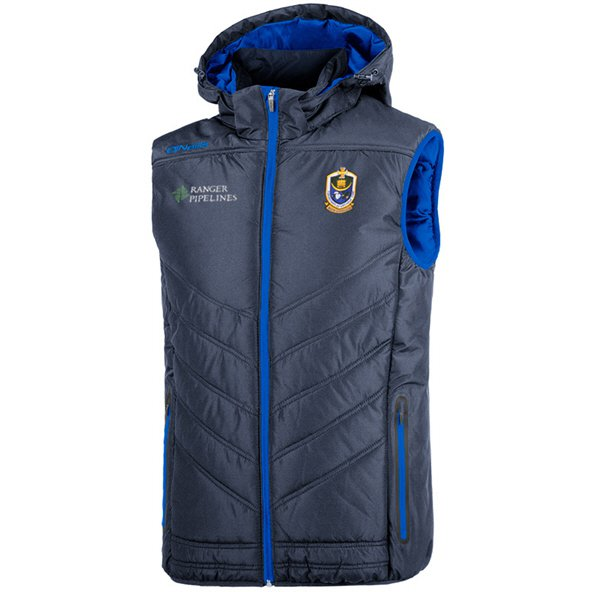 O'Neills Roscommon Slaney Men's Hooded Gilet, Navy