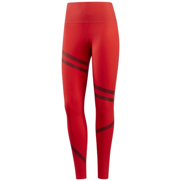 Reebok Linear High Rise Women's Tight Red