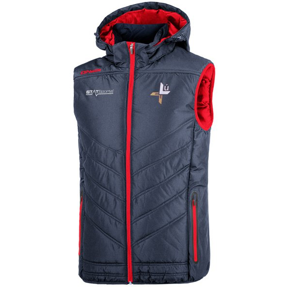 O'Neills Louth Slaney Men's Hooded Gilet, Navy
