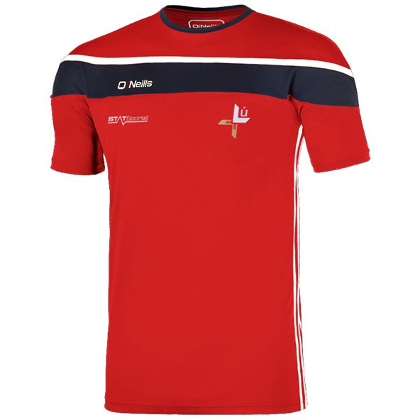 O'Neills Louth Slaney Kids' T-Shirt, Red