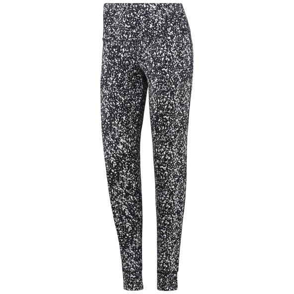 Reebok High Rise Speckle Women's Tights Blk