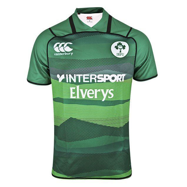 Canterbury IRFU 2018 Rugby 7's Home Jersey, Green