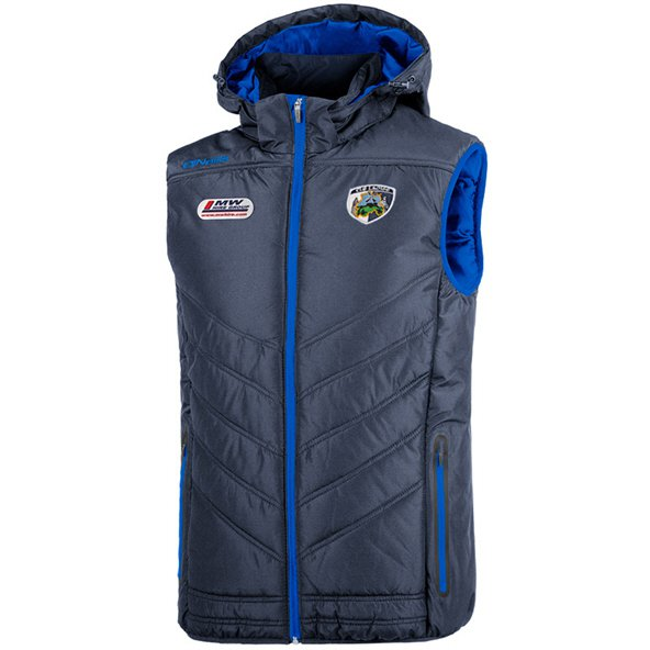 O'Neills Laois Slaney Men's Hooded Gilet, Navy