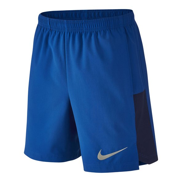 "Nike FLX 6""Challenger Boys Shorts Blue"