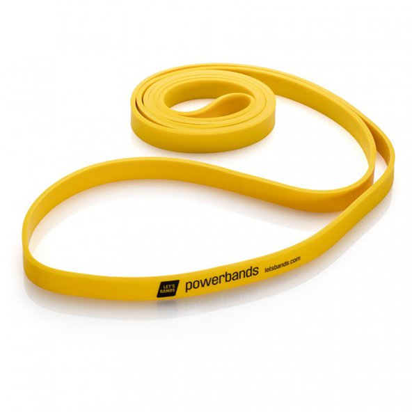 Lets Bands Max Powerband Light Yellow
