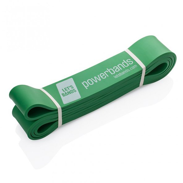 Lets Bands Max Powerband Medium Green
