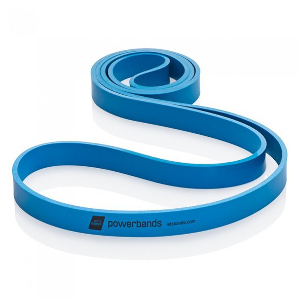 Lets Bands Max Powerband Heavy Blue