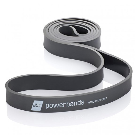 Lets Bands Max Powerband Ex Heavy Black