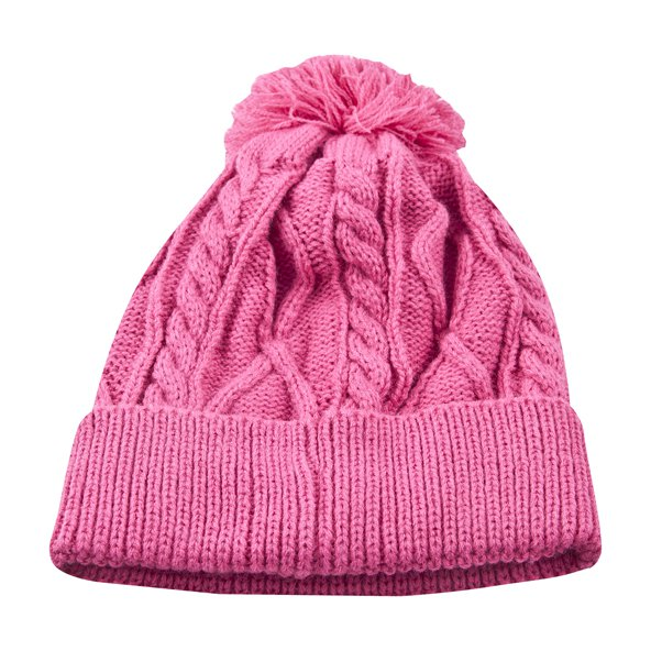Riptear Girls' Knit Beanie, Pink