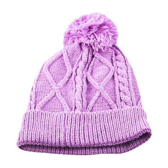 Riptear Junior Girls' Knit Beanie, Lilc
