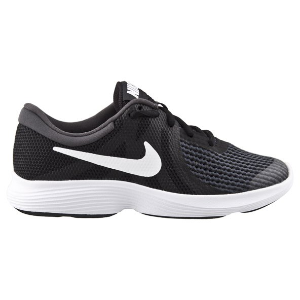 Nike Revolution 4 Boys' Running Shoe, Black