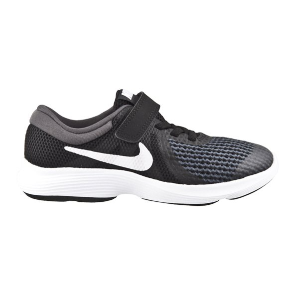 Nike Revolution 4 Junior Boys' Trainer, Black