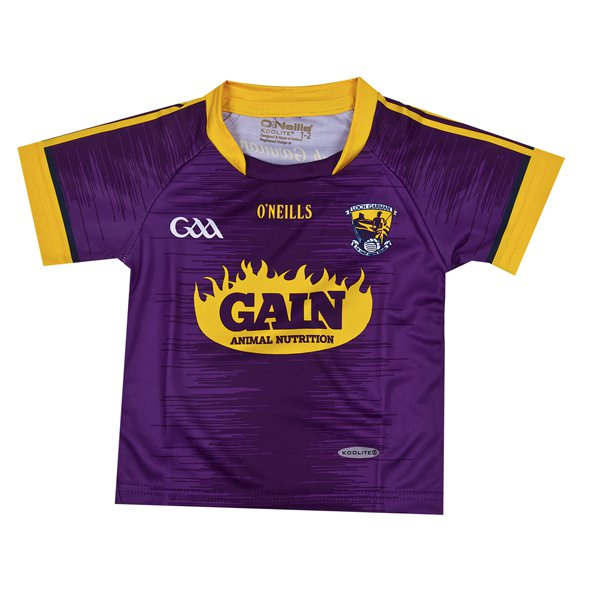 O'Neills Wexford Home Inf Jersey Maroon