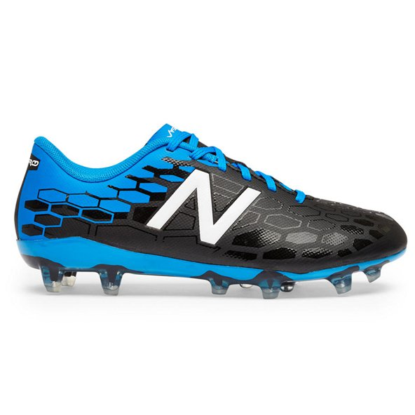 New Balance Visaro 2.0 Control Kids' FG Boot, Black