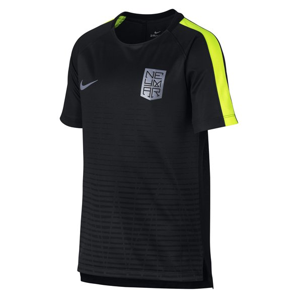 Nike Dry Squad Boys Top Black/Volt