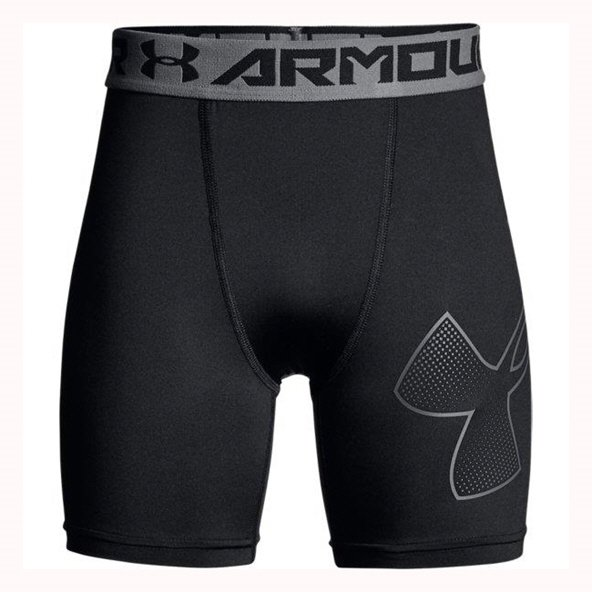 UA Armour Mid  Boys Shorts Black