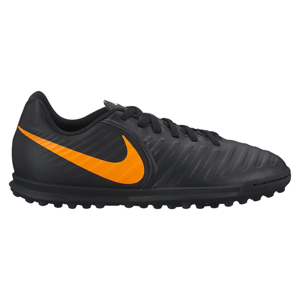 Nike TiempoX 7 Club Academy FG Kids' Astro Boot, Black