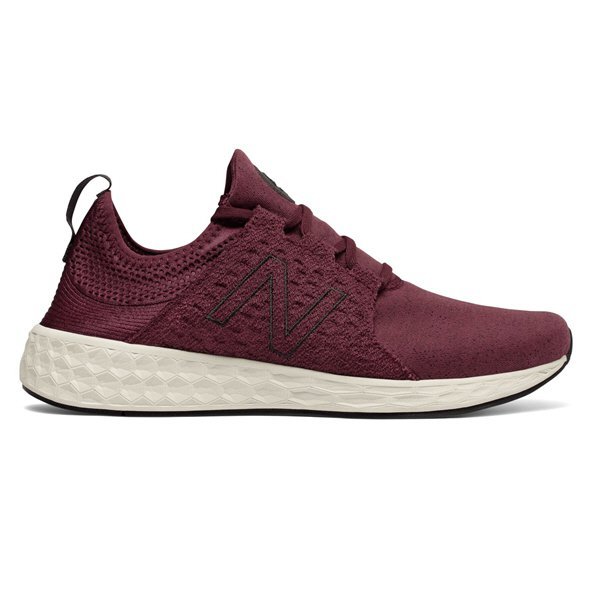 New Balance Fresh Foam Cruz Men's Running Shoe, Burgundy