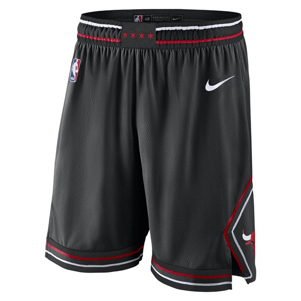 Nike Chicago Bulls Basketball Alternative Short, Black