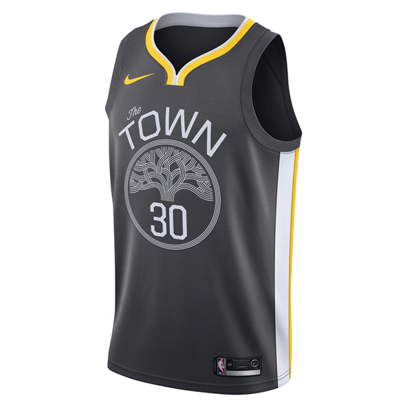 Nike Golden State Warriors Alternative Jersey - Curry 30, Black