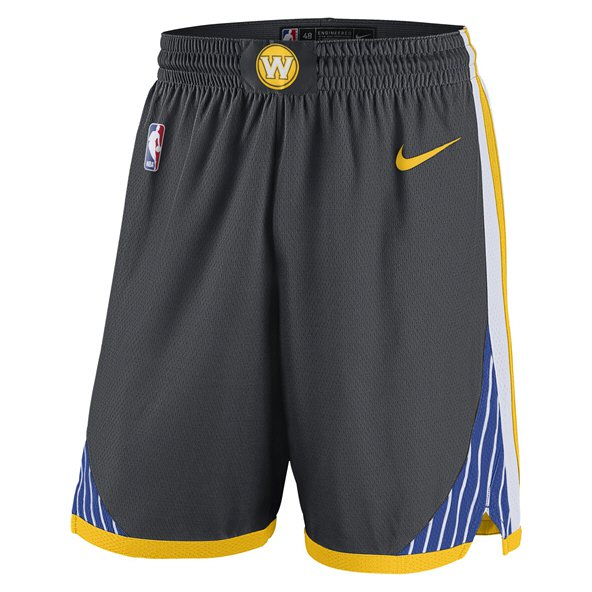 Nike GS Warriors Basketball Alternative Short, Black