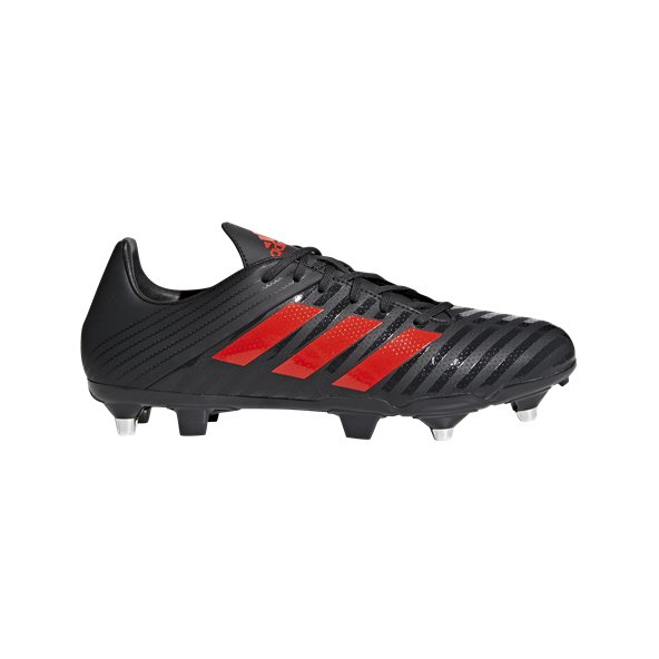 adidas Malice SG Rugby Boot, Black