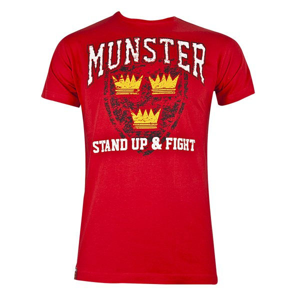 Tradcraft Munster Printed Cotton Tee Red