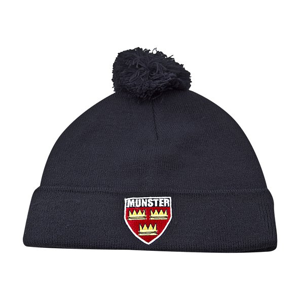 Tradcraft Munster Bobble Beanie Red/Navy