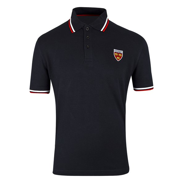 Tradcraft Munster Tipped Polo Navy/Red