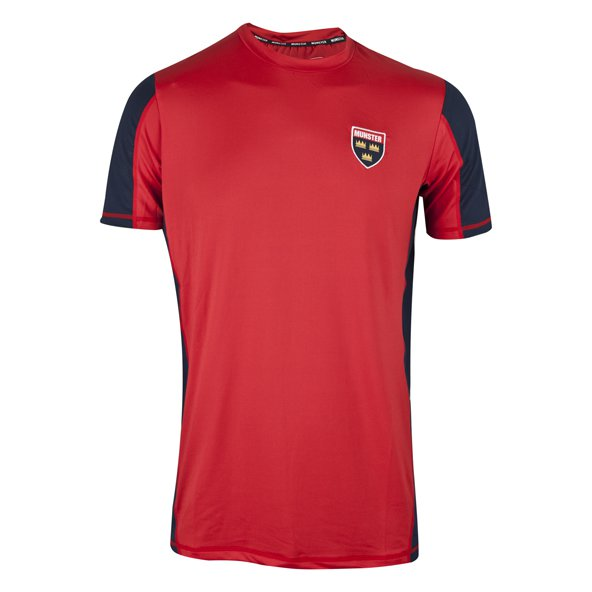 Tradcraft Munster Performance Tee Red/Nv