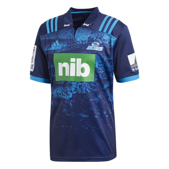 adidas Blues 2018 Men's Away Jersey, Dark Blue