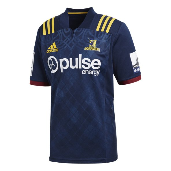 adidas Highlanders 2018 Men's Home Jersey, Navy