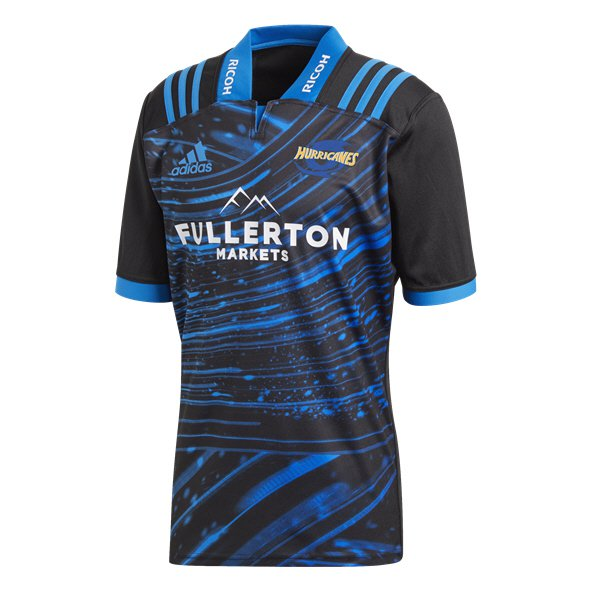 adidas Hurricanes 2018 Training Jersey, Black
