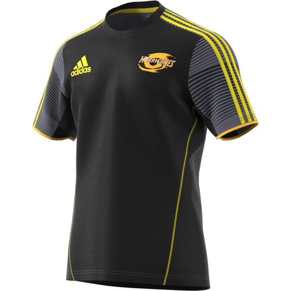 adidas Hurricanes 2018 Training T-Shirt, Black