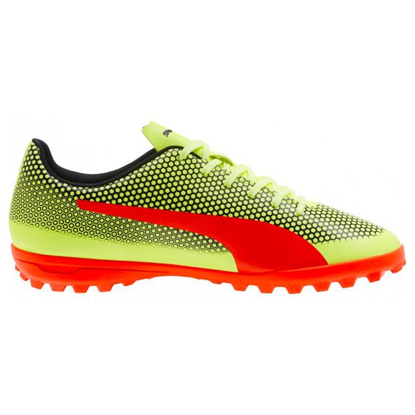 66ed0bf05 Puma Spirit Junior Turf Yellow Black