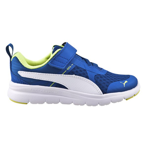 Puma Flex Essential Junior Boys' Trainer, Blue
