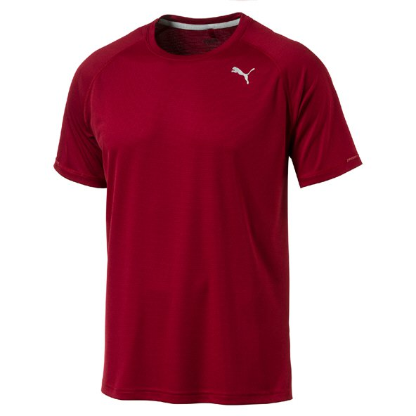 Puma Core-Run S/S Mens Tee Red