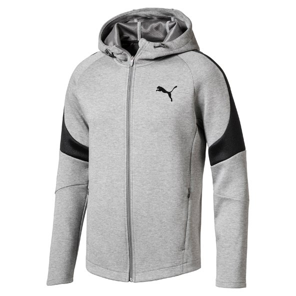 Puma Evostripe Move Men's FZ Hoody, Grey