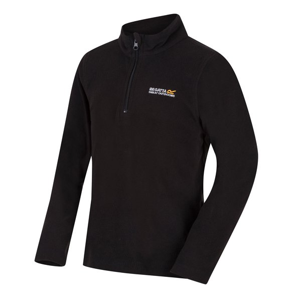 Regatta Hotshot II Boys' Fleece Jacket, Black