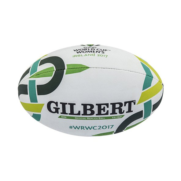 Gilbert Womens RWC 2017 Mini Ball White