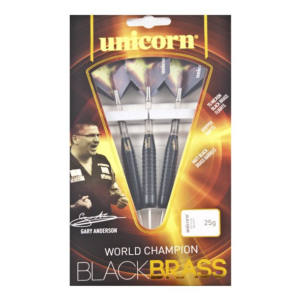 Unicorn Gary Anderson 25g Black Brass