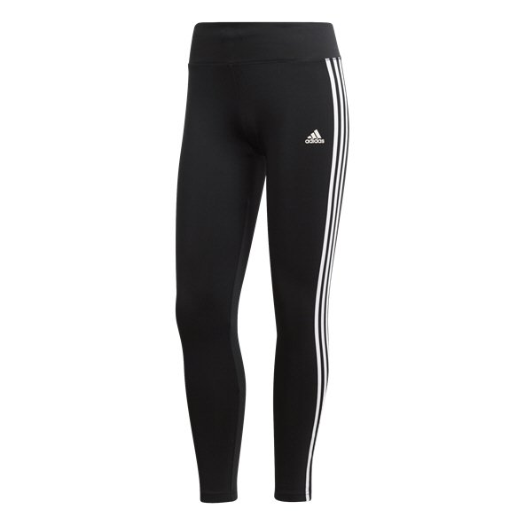 adidas D2M 3 Stripe Womens Legging Black
