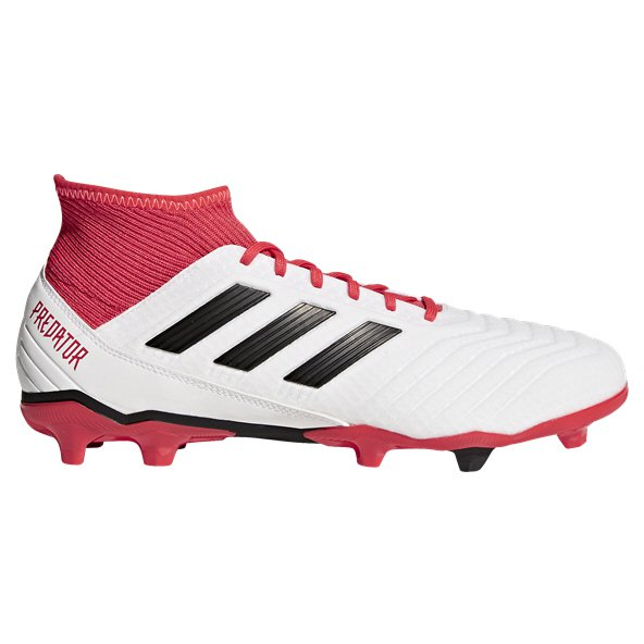 adidas Predator 18.3 FG Football Boot, White