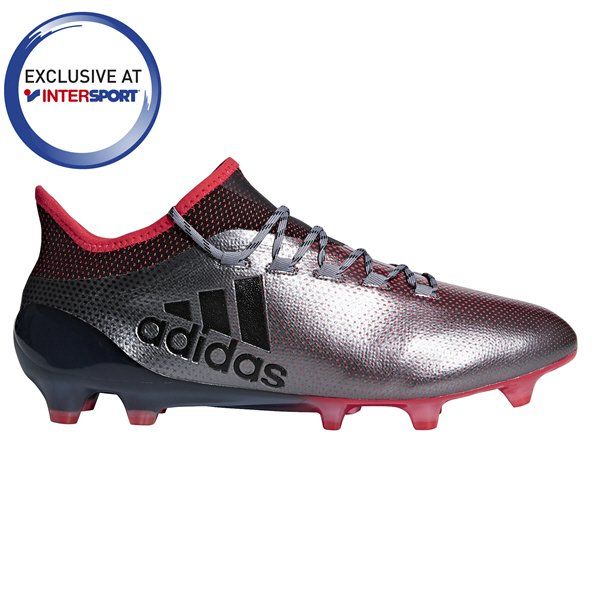 adidas X 17.1 FG Football Boot, Grey