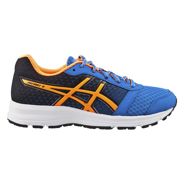 Asics Patriot 9 Boys' Running Shoe, Blue
