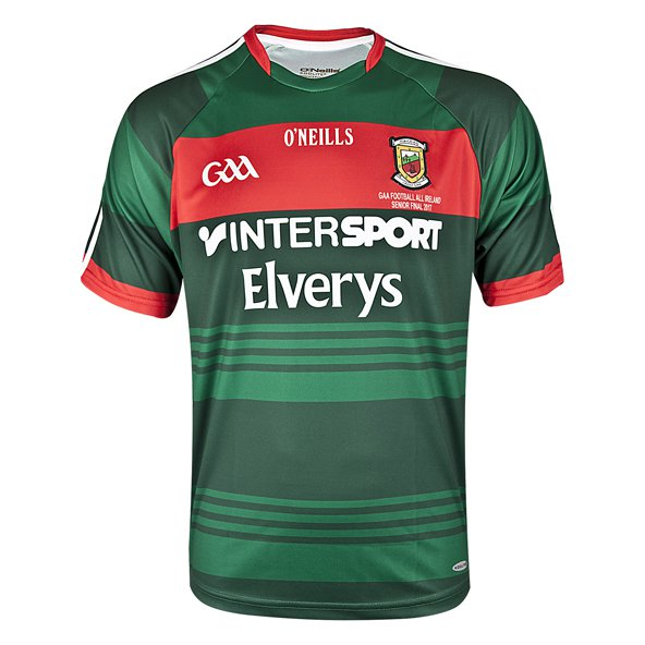 O'Neills Mayo 2017 All Ireland Final Jersey, Green
