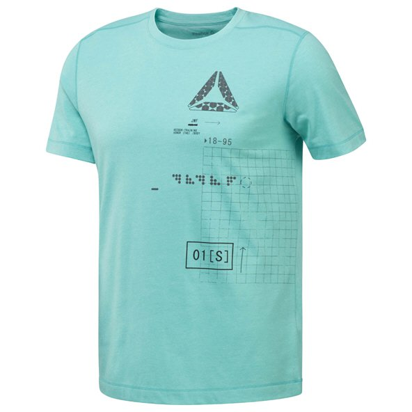 Reebok Speedwick Graphic Men's T-Shirt, Green